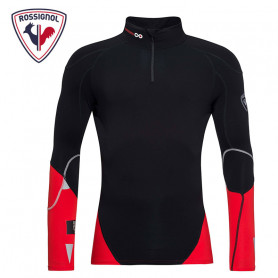 Maillot ROSSIGNOL Infini Compression Noir / Rouge Homme