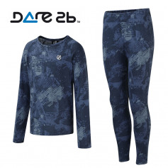 Ensemble thermique DARE 2 BE Partition Bleu denim Junior