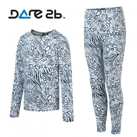 Ensemble thermique DARE 2 BE Partition Blanc / Bleu Junior
