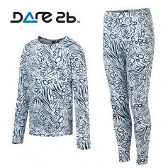 Ensemble thermique DARE 2 BE Partition Blanc / Bleu Junior