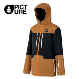 Veste de ski PICTURE Proden Caramel / Noir Garçon