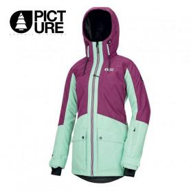 Parka de ski PICTURE ORGANIC Mineral Violet / Vert Femme
