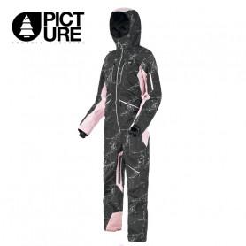Combinaison de ski PICTURE Xena Suit Noir / Rose Femme