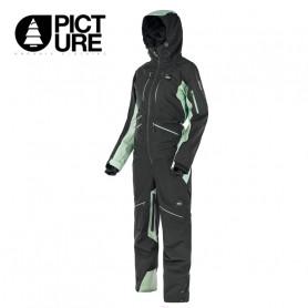 Combinaison de ski PICTURE Xena Suit Noir / Vert Femme