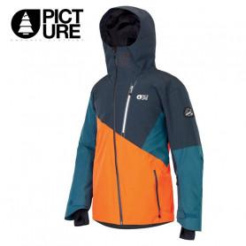 Veste de ski PICTURE Alpin Bleu / Orange Homme