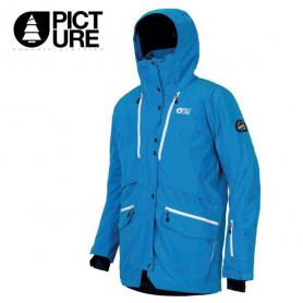 Parka de ski PICTURE Pure Bleu Homme