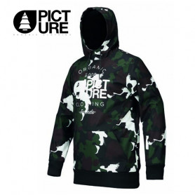 Sweat softshell PICTURE Parker Tech Hood Camo Homme