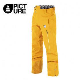 Pantalon de ski PICTURE Object Jaune Homme