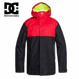 Veste de ski DC SHOES Defy Rouge / Noir Homme