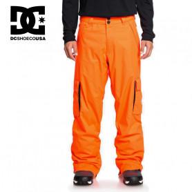 Pantalon de ski DC SHOES Banshee Orange fluo Homme