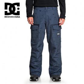 Pantalon de ski DC SHOES Code Bleu à carreaux Homme