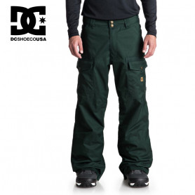 Pantalon de ski DC SHOES Code Vert sapin Homme