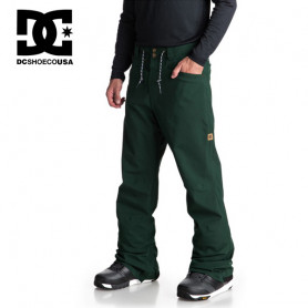 Pantalon de ski DC SHOES Relay Vert sapin Homme