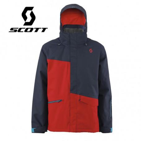 Veste de ski SCOTT Avett Rouge / Bleu marine Homme