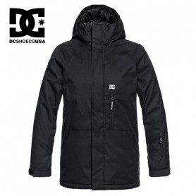 Veste de ski DC SHOES Ripley Noir Junior