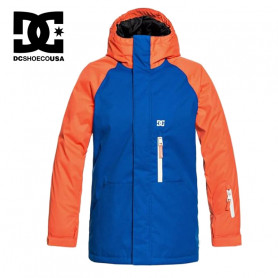 Veste de ski DC SHOES Ripley Bleu / Orange Junior