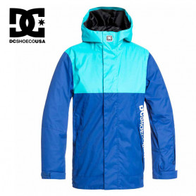 Veste de ski DC SHOES Defy Bleu Junior