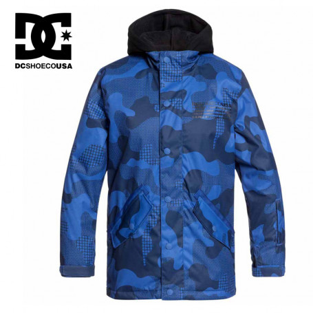 Veste de ski DC SHOES Union Bleu Junior