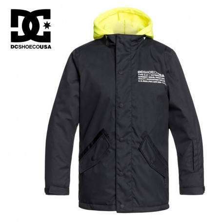 Veste de ski DC SHOES Union Noir Junior