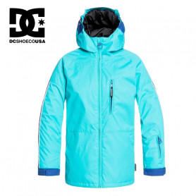 Veste de ski DC SHOES Retrospect Bleu Junior