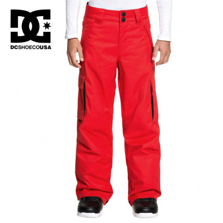 Pantalon de ski DC SHOES Banshee Rouge Junior