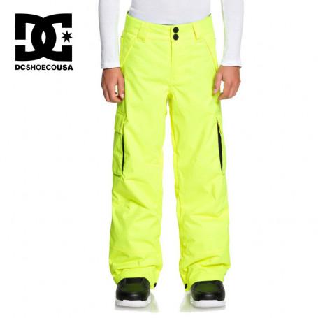 Pantalon de ski DC SHOES Banshee Jaune Junior