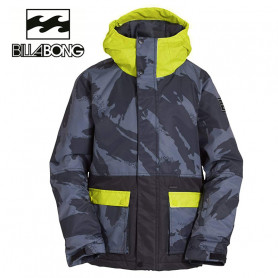 Veste de ski BILLABONG Fifty 50 Gris / Jaune Junior