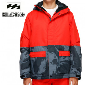 Veste de ski BILLABONG Fifty 50 Rouge orangé / Gris Junior