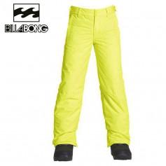 Pantalon de ski BILLABONG Grom Jaune Junior