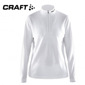 Pullover technique CRAFT Shift Blanc Femme
