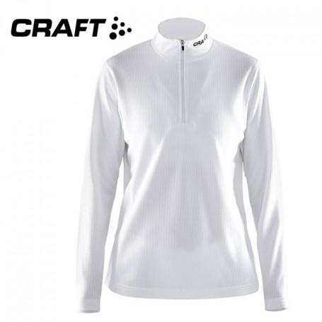 Pullover technique CRAFT Shift Blanc Femme