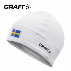 Bonnet de ski nordique CRAFT Light Thermal Hat Blanc Unisexe