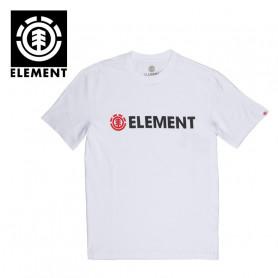 T-shirt ELEMENT Blazin SS Blanc Homme