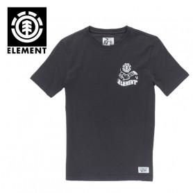 T-shirt ELEMENT Painted SS Noir Homme