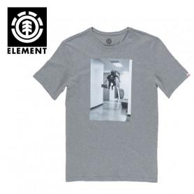 T-shirt ELEMENT HR SS Gris Homme