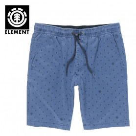 Short ELEMENT Altona Print WK Bleu Homme