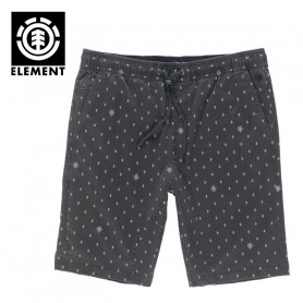 Short ELEMENT Altona Print WK Noir Homme
