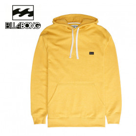 Sweat à capuche BILLABONG All Day Po Jaune Homme