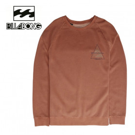Sweat BILLABONG Prismboard Crew Noisette Homme