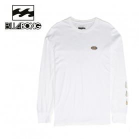 T-shirt BILLABONG Bloom LS Blanc Homme