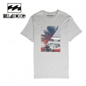 T-shirt BILLABONG Chill Out SS Gris Homme