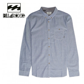 Chemise BILLABONG All Day Chambray Gris Homme