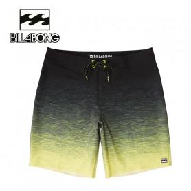 Boardshort BILLABONG Tripper Pro Noir / Jaune Homme