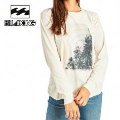 T-shirt BILLABONG High Tide Crème Femme