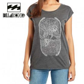 T-shirt BILLABONG All night Gris Femme
