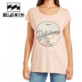 T-shirt BILLABONG All night Saumon Femme