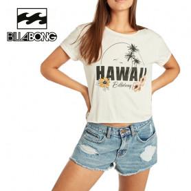 T-shirt BILLABONG Remix SS Crème Femme
