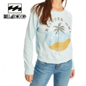Sweat BILLABONG Laguna Beach Bleu ciel Femme