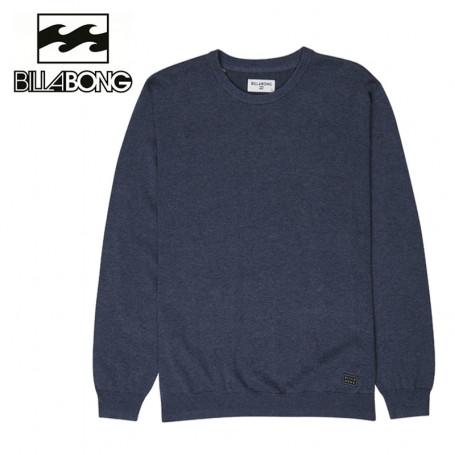 Pull BILLABONG All day Sweater Boy Bleu Garçon