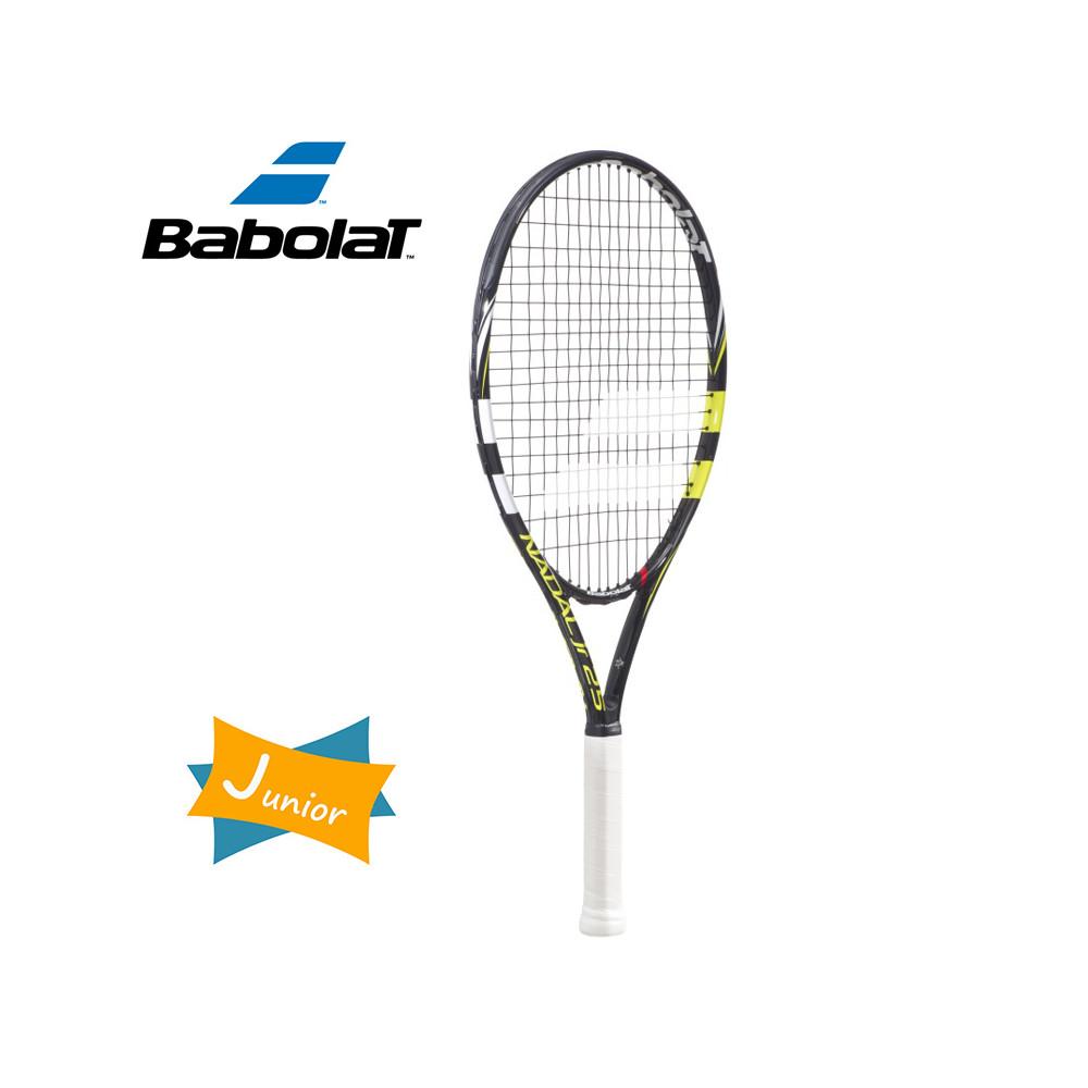 Raquette de tennis BABOLAT Nadal 21  Noir / Blanc Junior